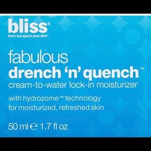 BLISS Fabulous Drench N Quench Cream 1.7 oz
